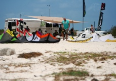 Bonaire kite surfing school