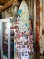 "The ""Fun Board"" at the Windsurf Place, Sorobon"