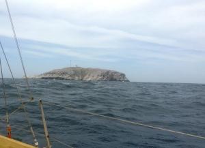 Los Monjes del Sur. Big rock