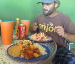 Comida del Dia, a five dollar feast