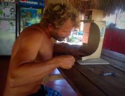 Skipper gets roped into building a mini skate ramp