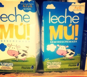 And leche mù (That rhymes)