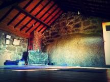 New yoga shala, Portugal