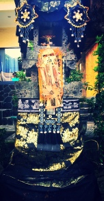 Bali is intricately colourful